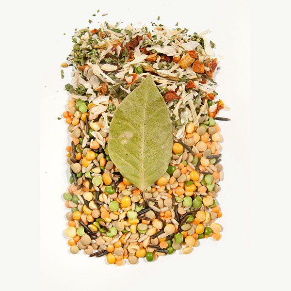 Harvest Lentil Ingredients